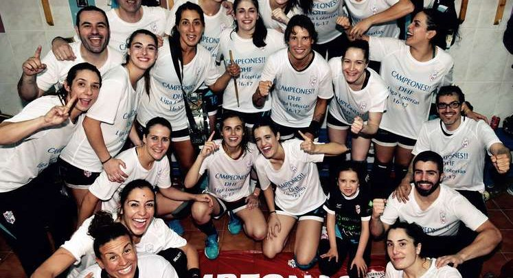 Anthia Espiñeira: «Todavía estoy asumiendo que somos campeonas.»