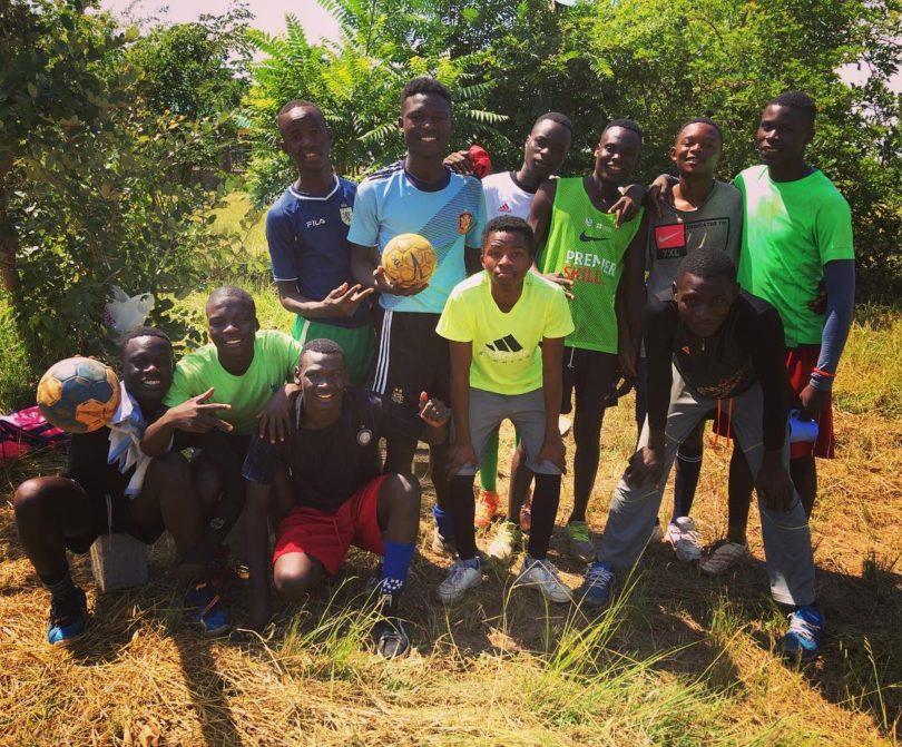 Allí, en Zambia, el balonmano es vida