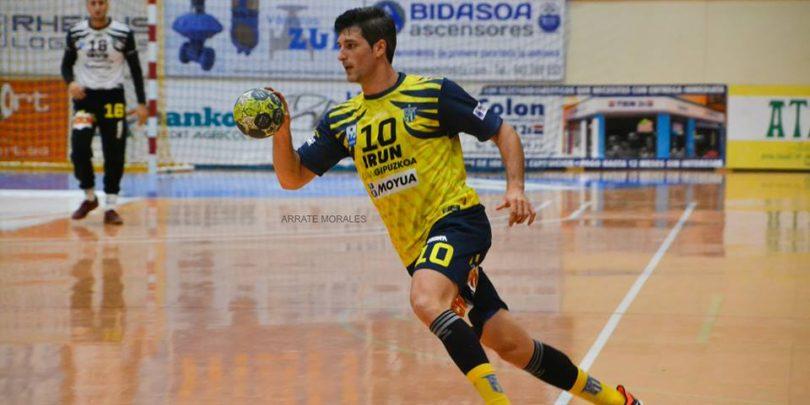 Eduard Nonó dejará el CD Bidasoa para retirarse