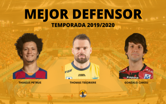 Mejor defensor de la Liga Asobal 19/20