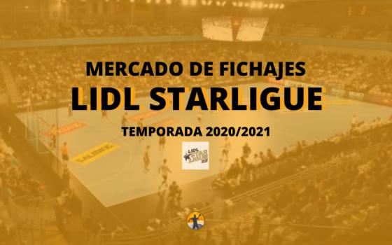 Mercado de fichajes I Lidl Starligue 20/21