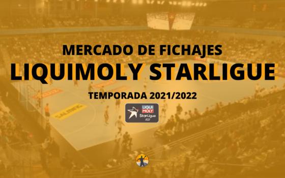 Mercado de fichajes I Liquimoly Starligue 2021/22
